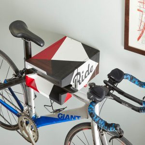 How To Build A Wall-Mounted Bike Rack With Storage