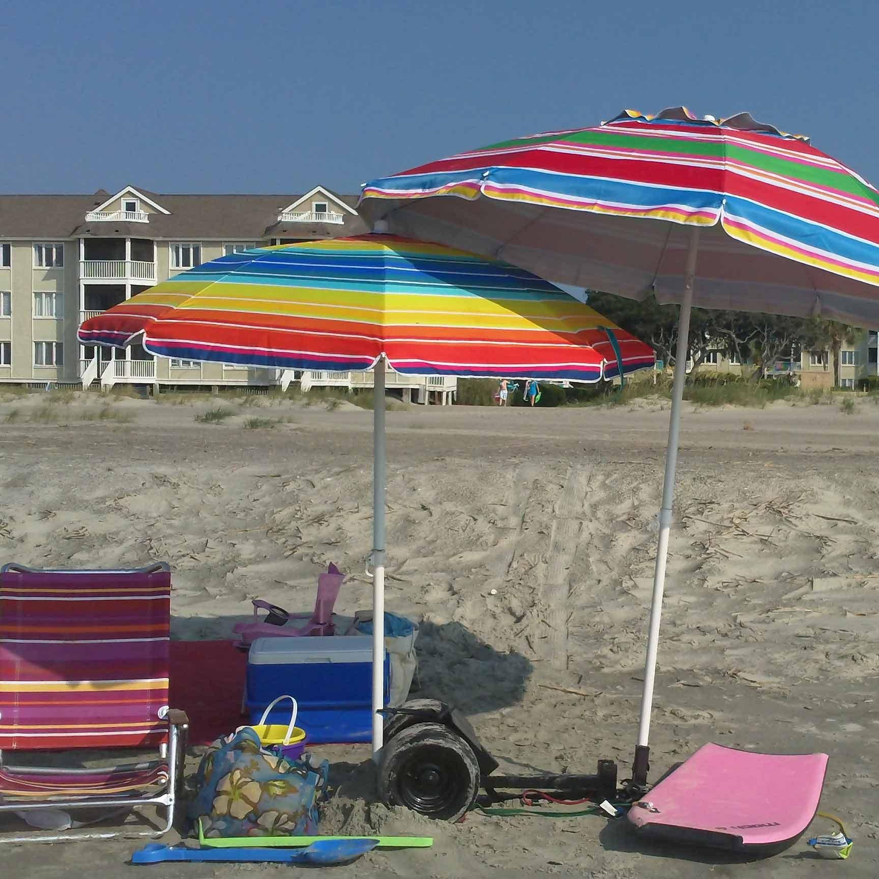 Trash to treasure beach cart