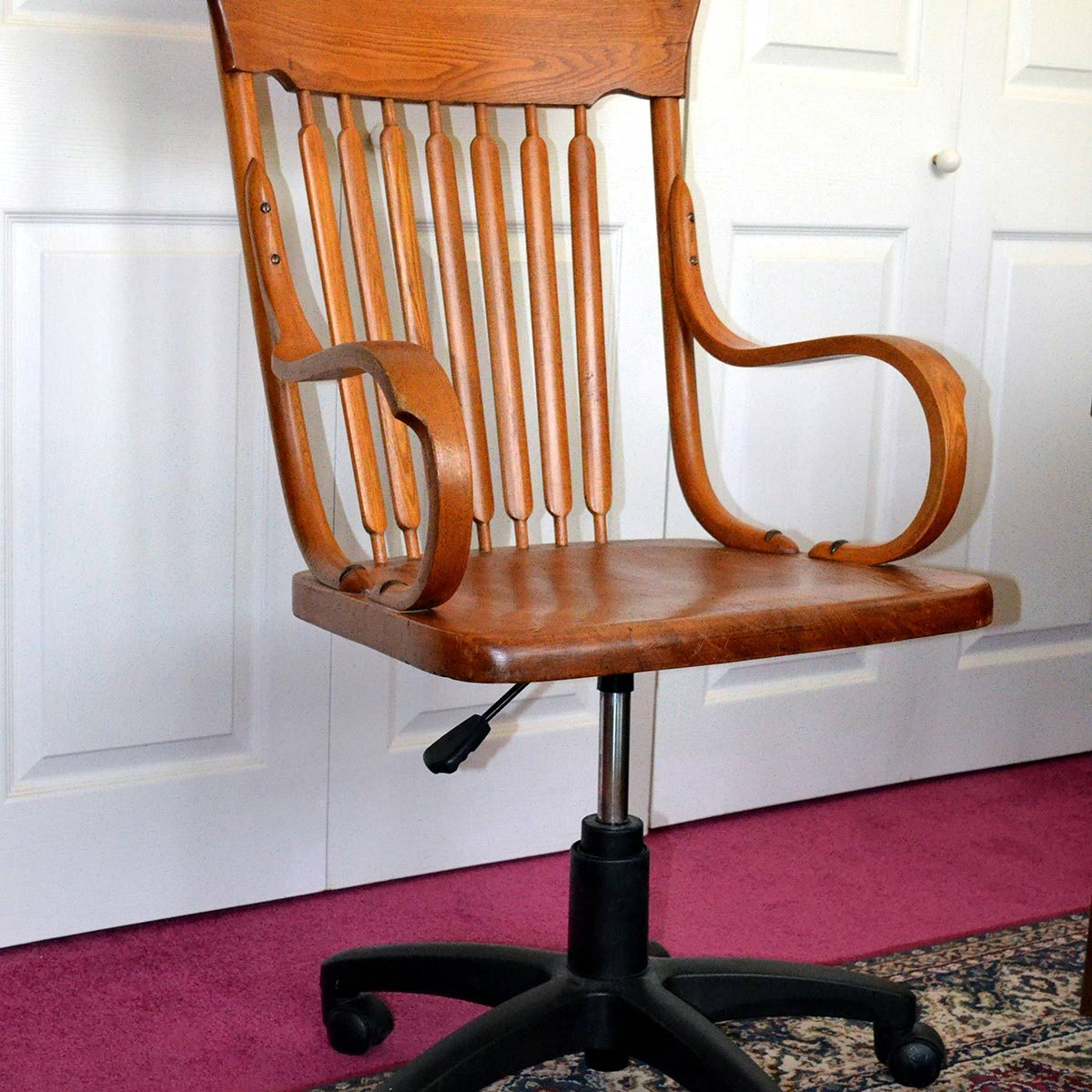 trash to treasure vintage office chair