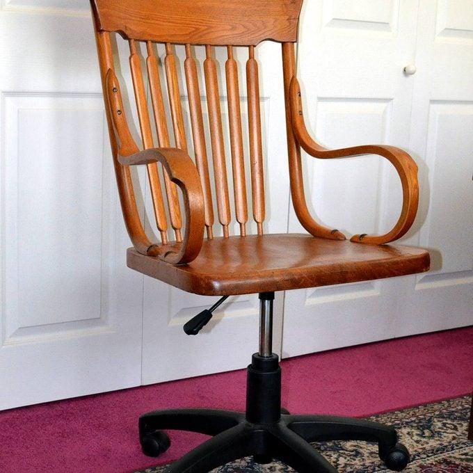 trash to treasure vintage office chair