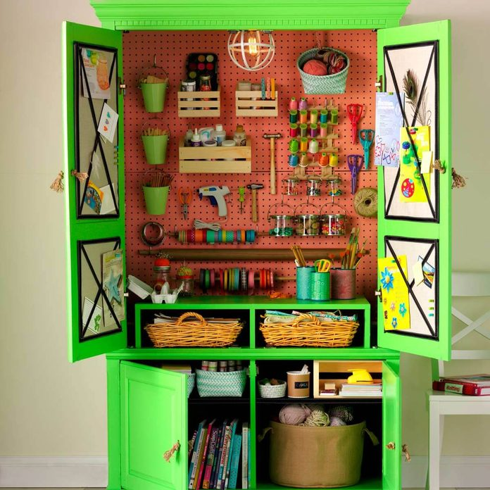 armoire to craft center