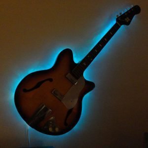 Reader Project: Trash to Treasure, Lighted Guitar