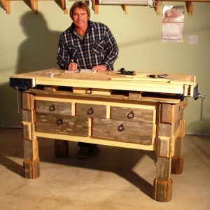 Reader Project: Hefty Woodworking Bench