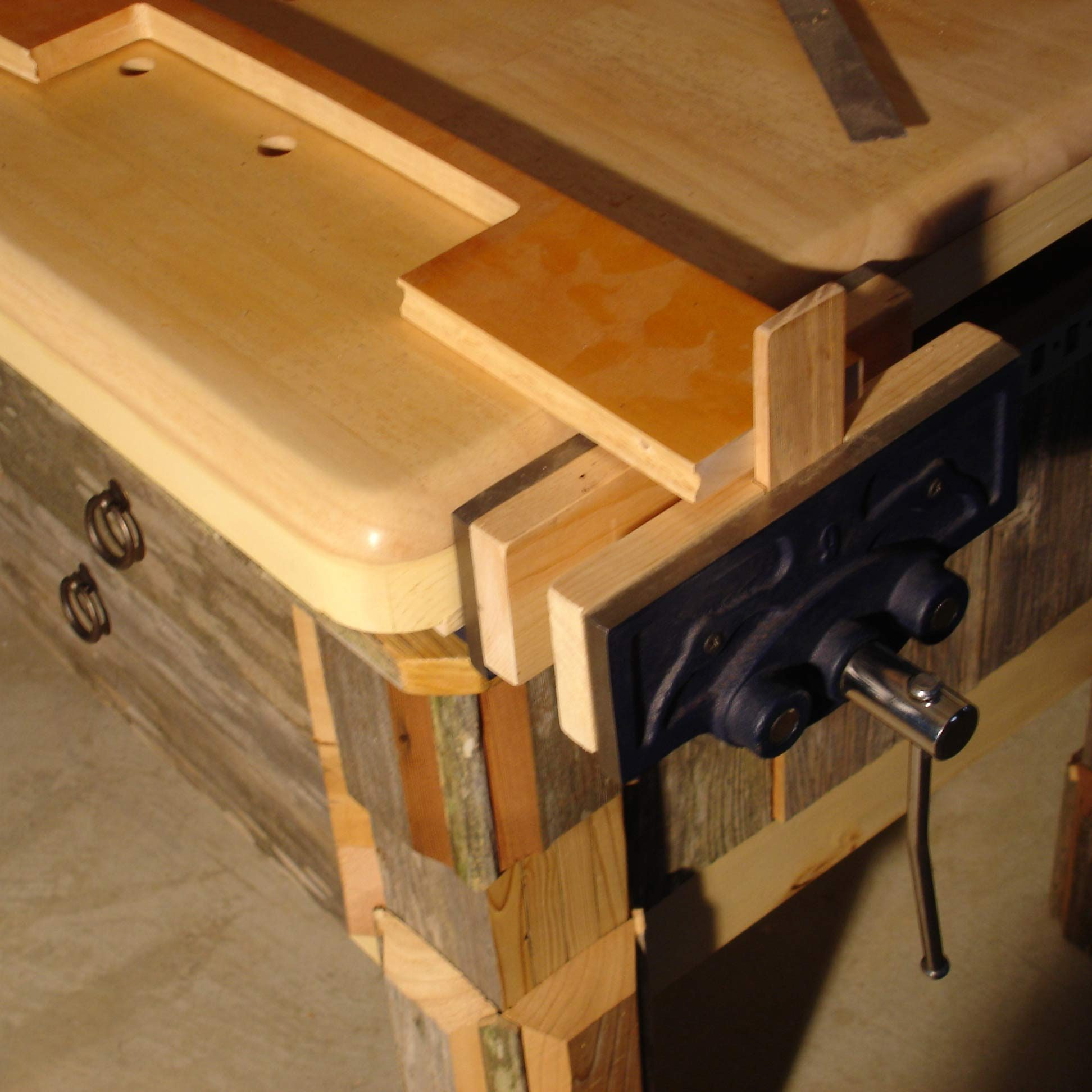 reader project: hefty woodworking bench — the family handyman