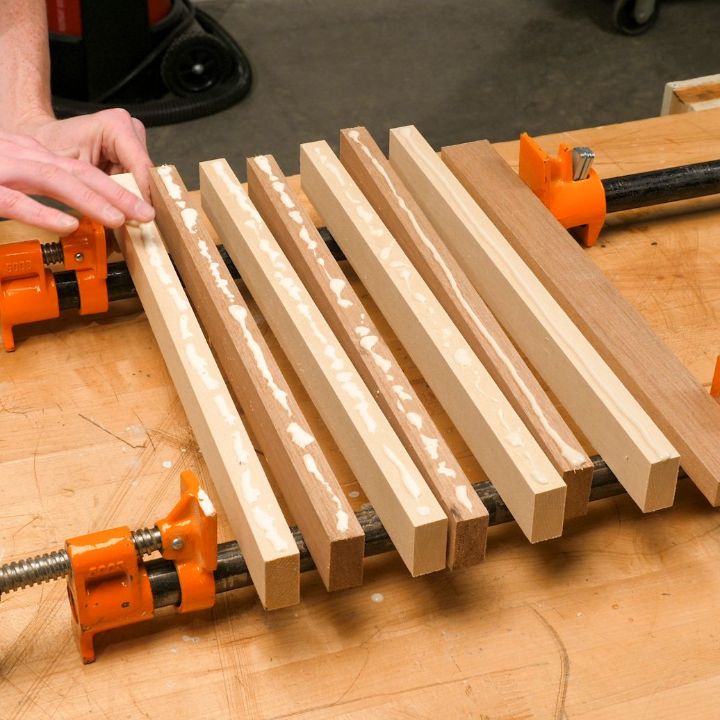 Chessboard Glue Up