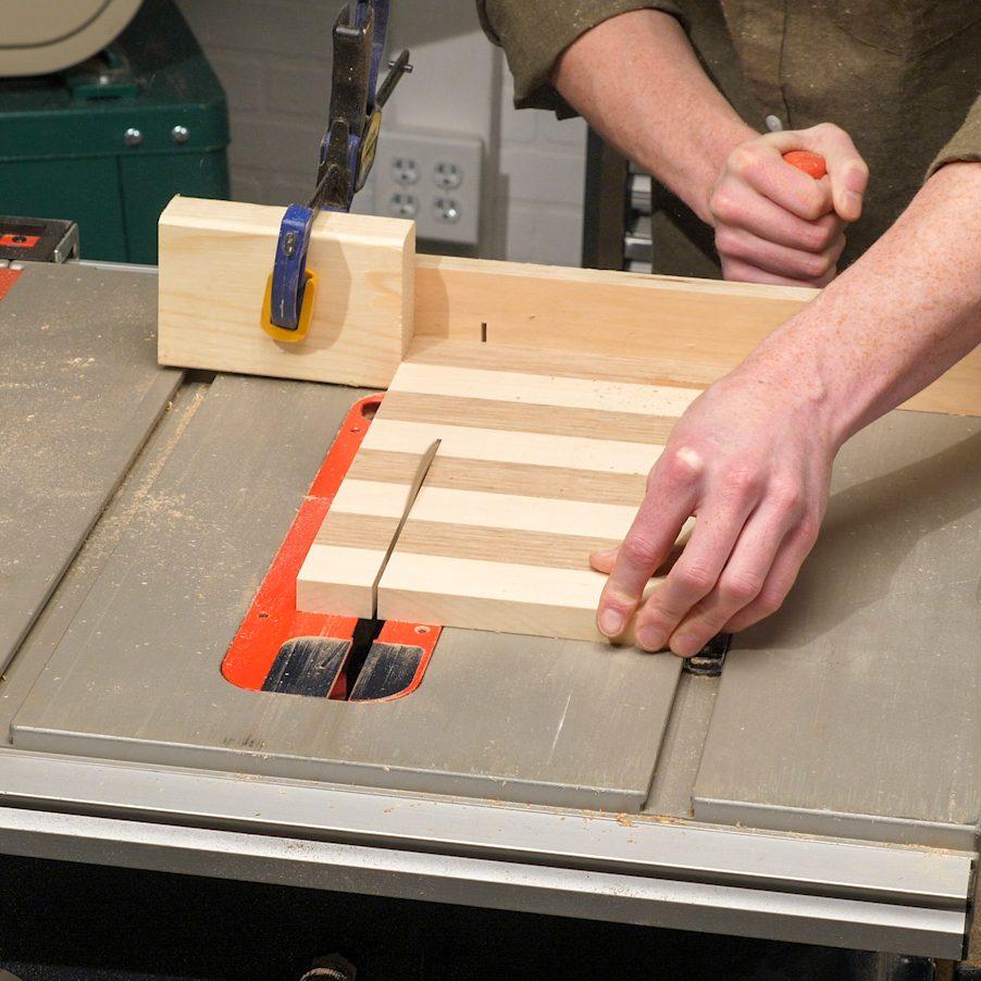 Chessboard Crosscut Board