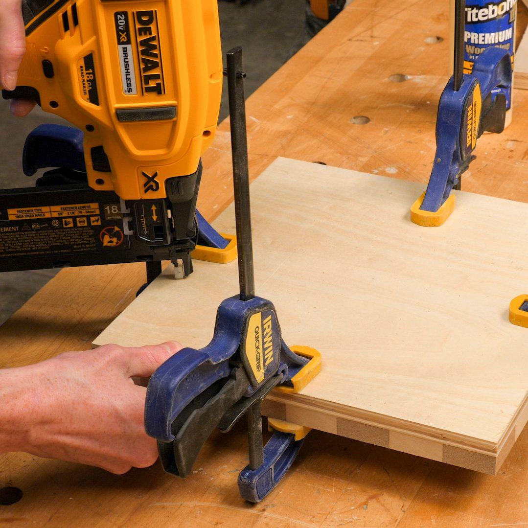 Chessboard Attach Plywood