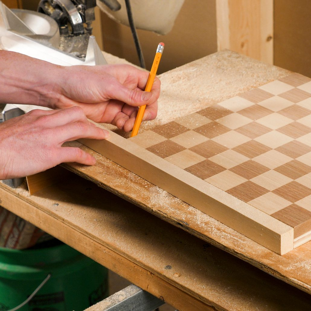 Chessboard Scribe Lengths