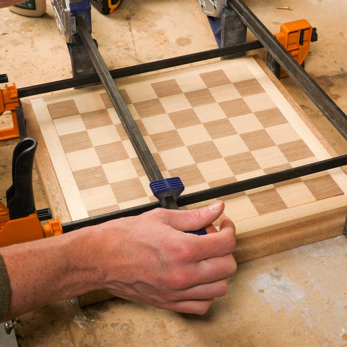 Chessboard Glue and Clamp