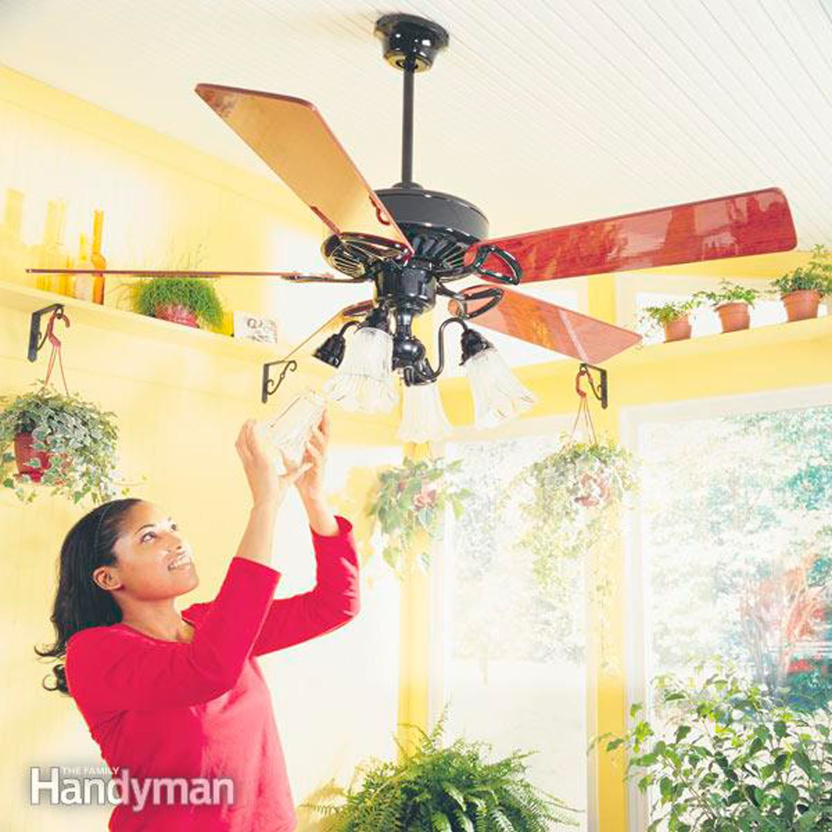 How To Install Ceiling Fans Family Handyman