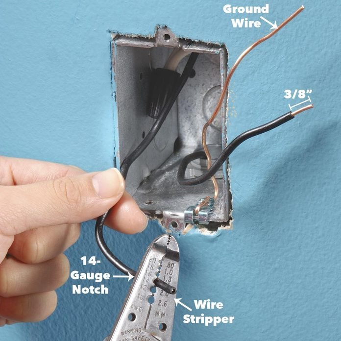 strip wire ends