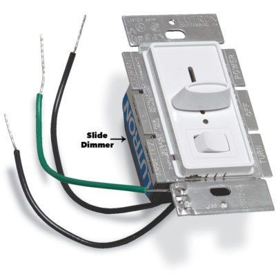 slide dimmer light switch