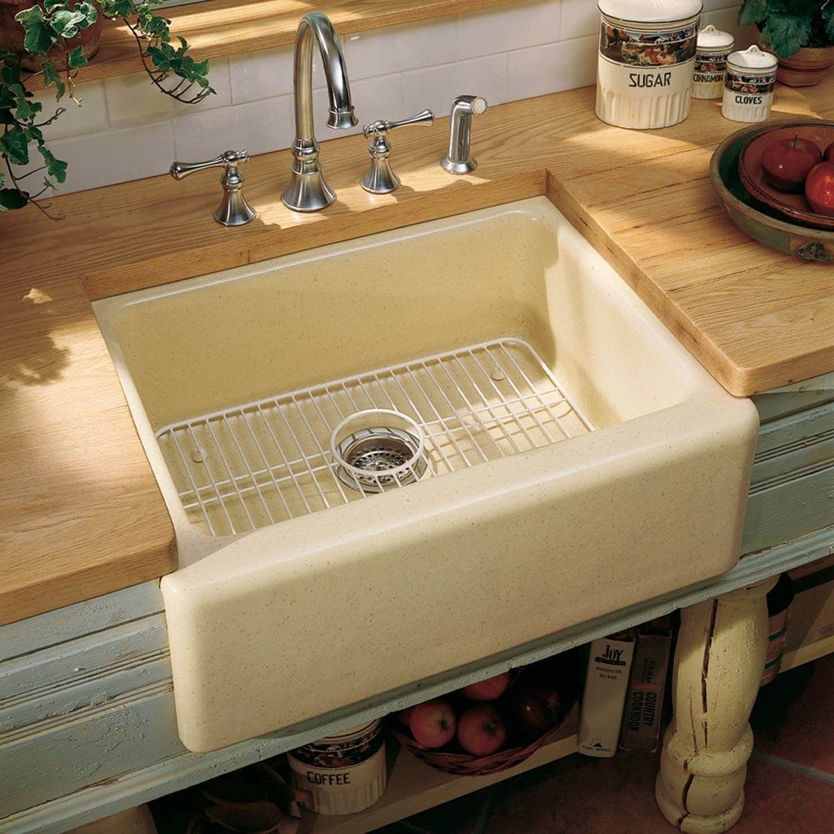 Add a Single-Bowl Sink