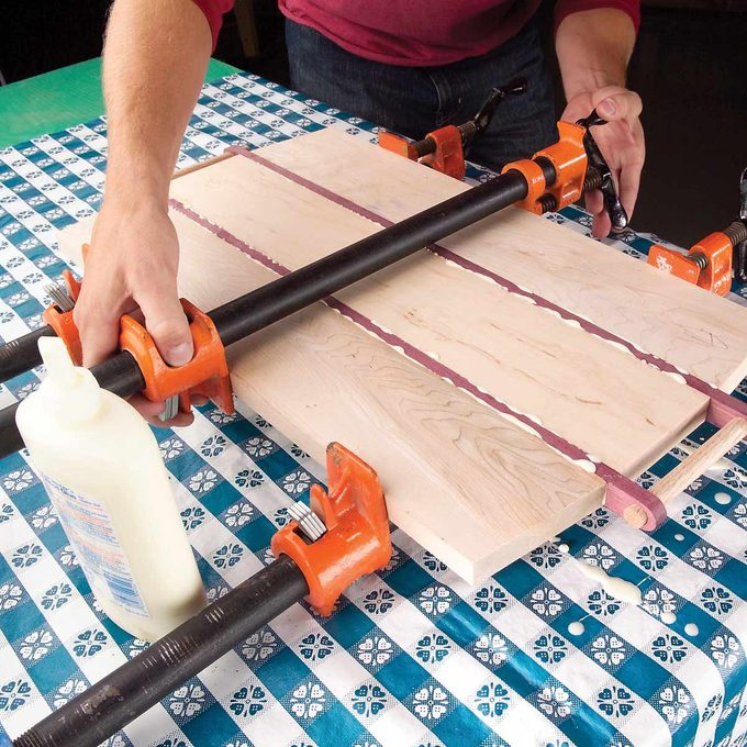 woodworking tablecloth