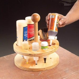 glue bottle caddy