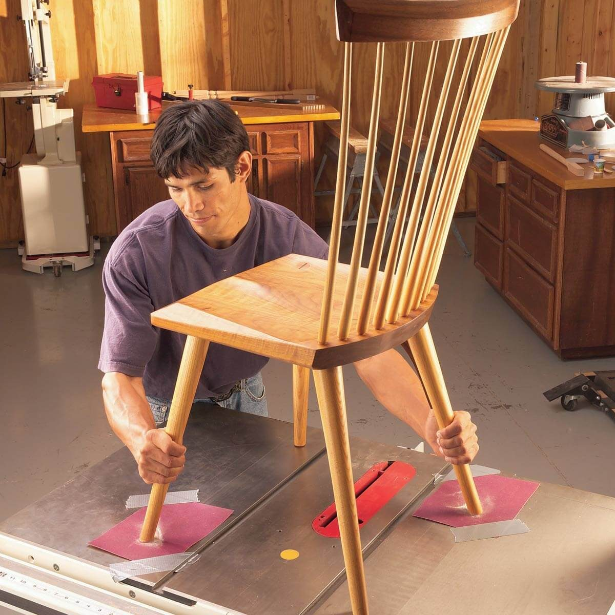 No Rock Chair Workshop Tip From The Family Handyman
