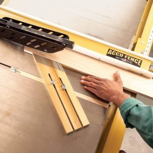 Self-Clamping Featherboard