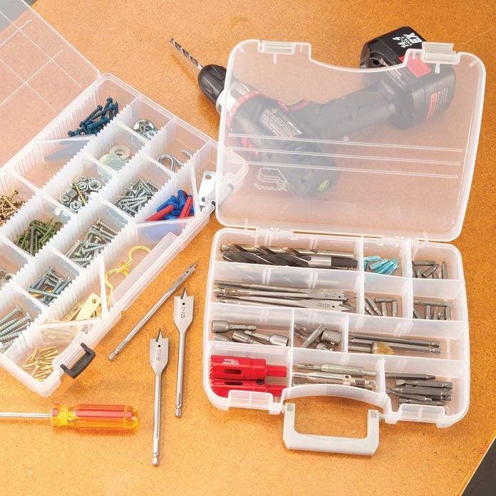 Drill bit organizer