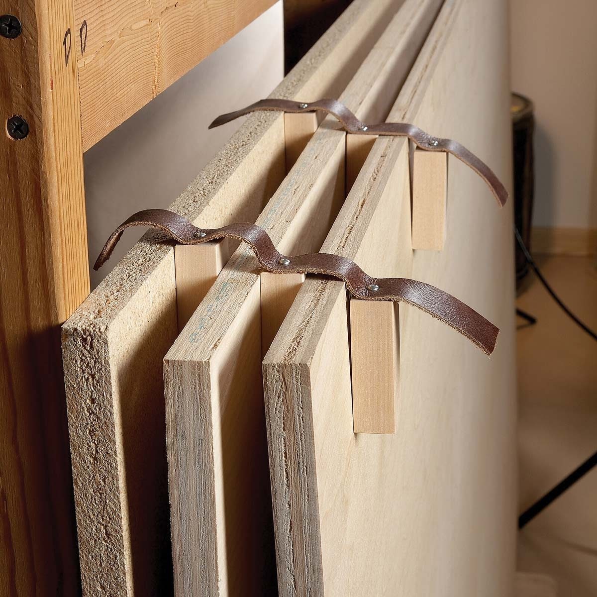 the best hack for storing plywood | the family handyman