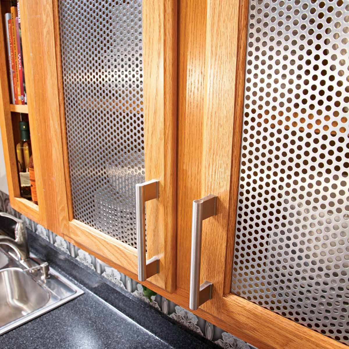 metal cabinet inserts