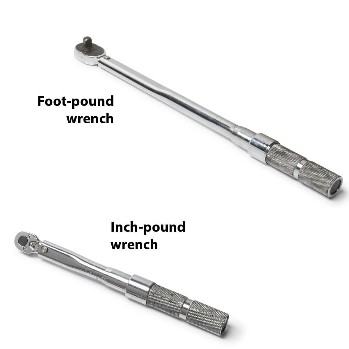 foot pound and inch pound wrenches