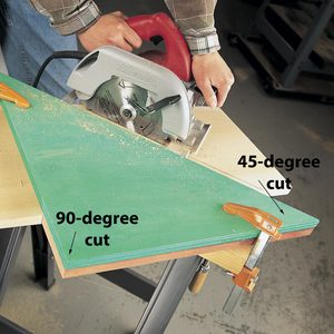 circular saw cutting quide