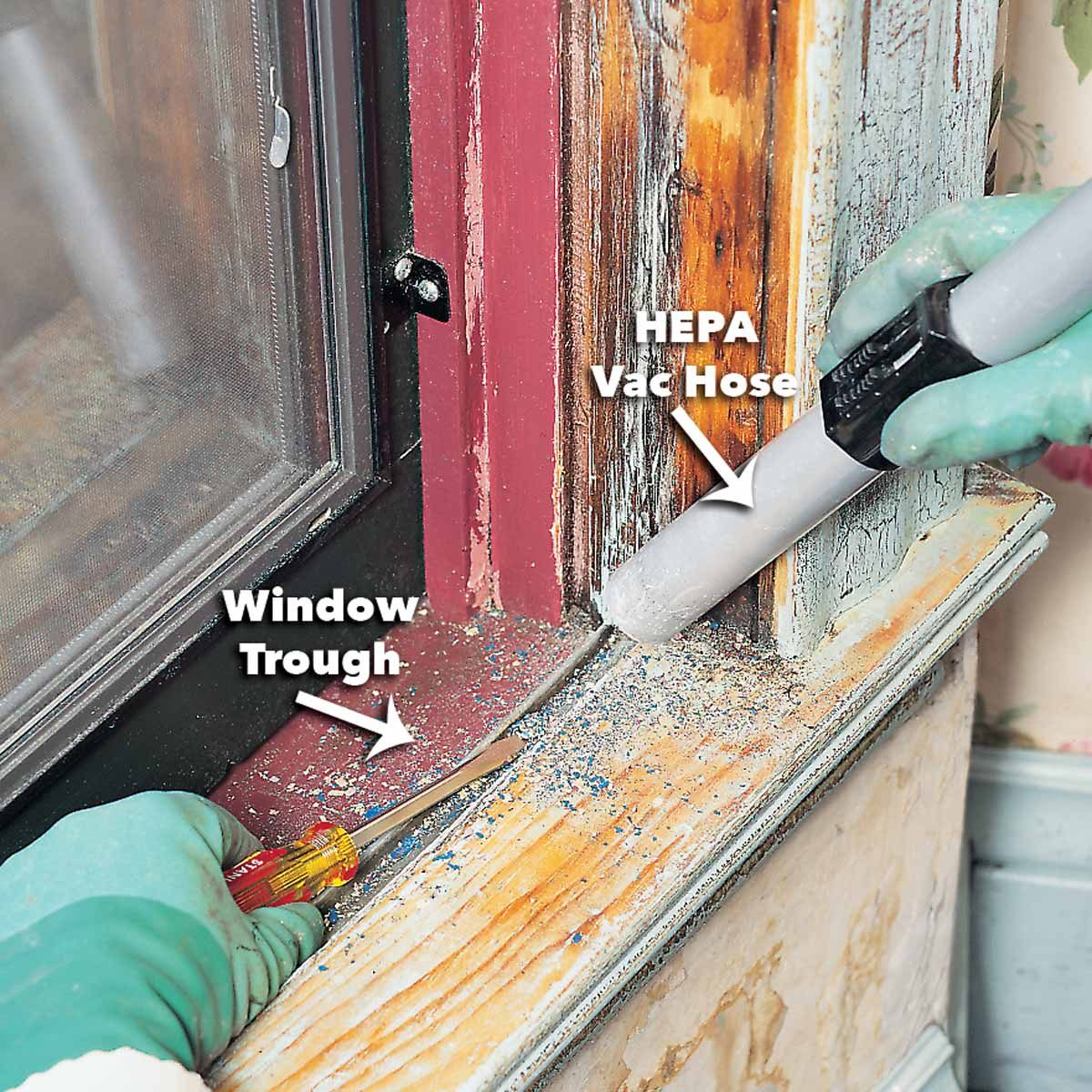 How To Remove Lead Paint Safely The Family Handyman