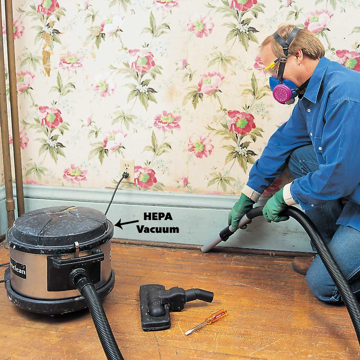 hepa vacuum up lead paint
