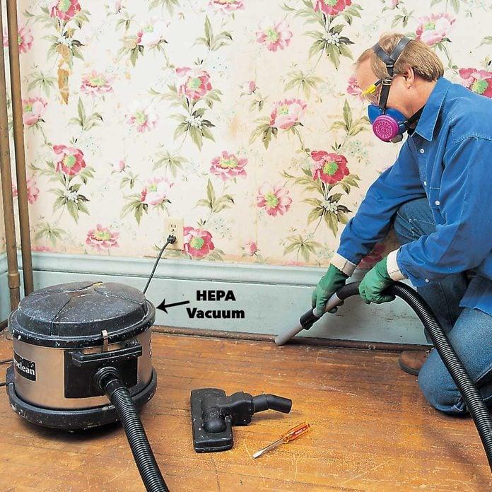 hepa vacuum up lead paint