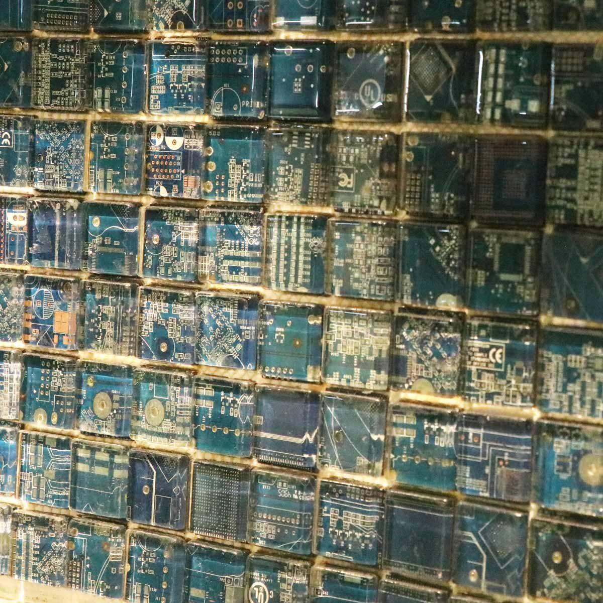 electronic circuit board art