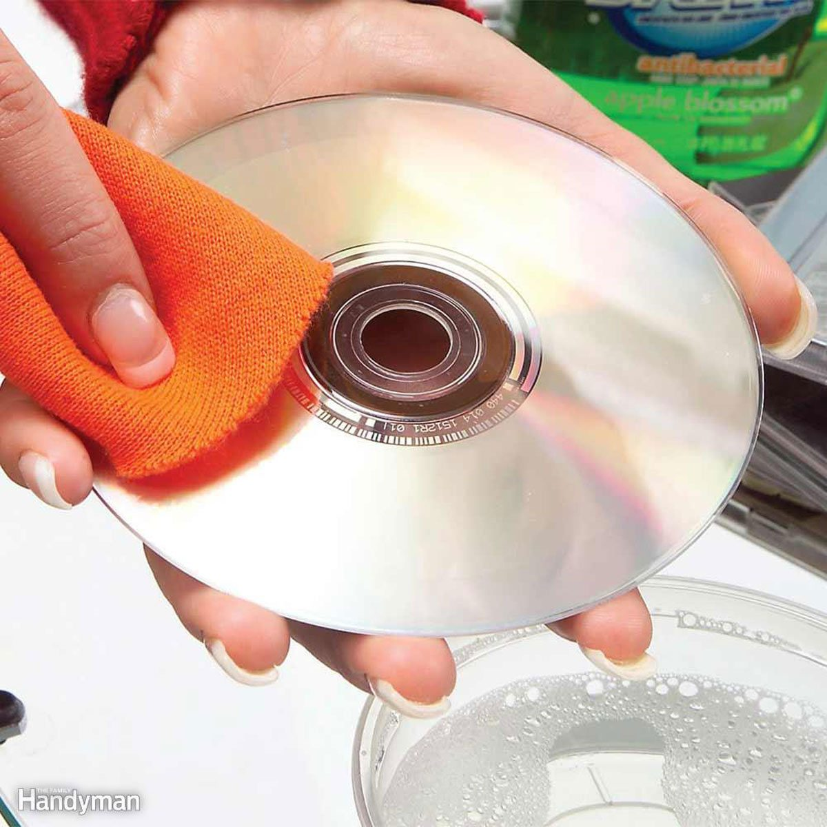 A Quick Cleaning Cures Skipping Discs