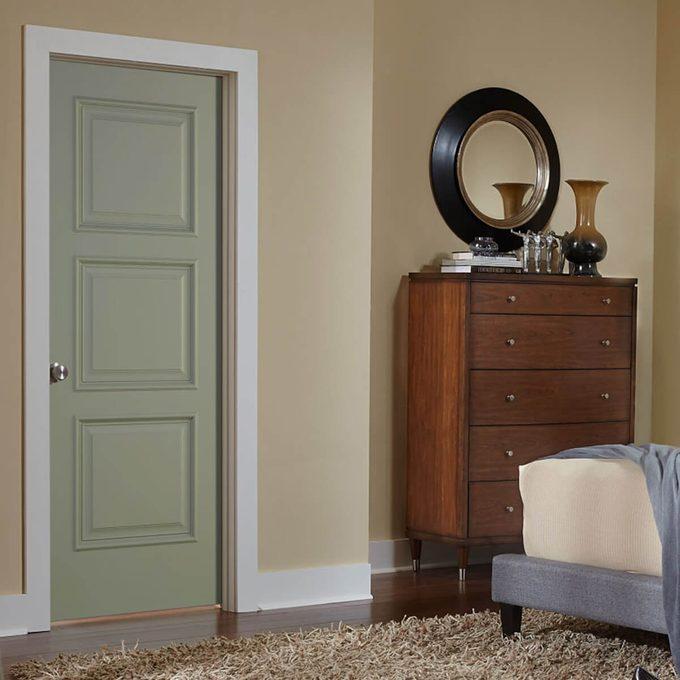 Jeld-wen green door