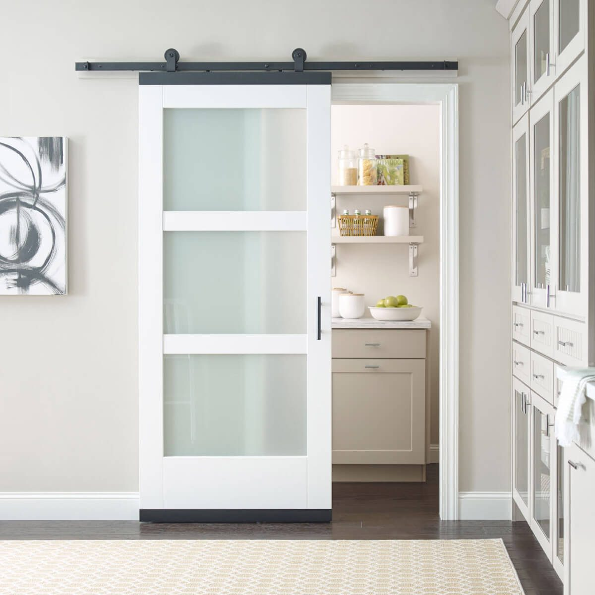 MODA Collection With Translucent Glass Jeld Wen Design Glide Door