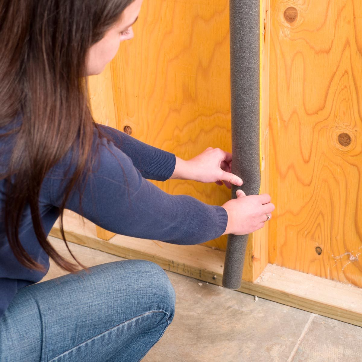 pipe insulation door dings handy hints