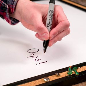 How to Erase Permanent Marker on a Dry Erase Board