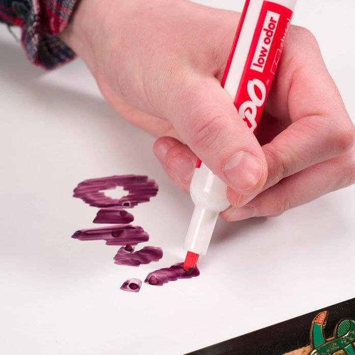 dry erase board permanent marker handy hint HH