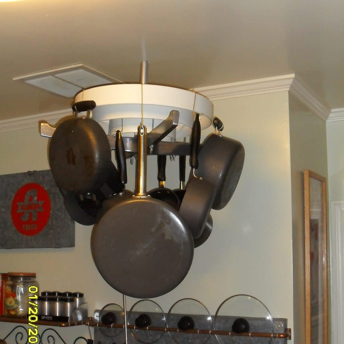 trash to treasure pot rack
