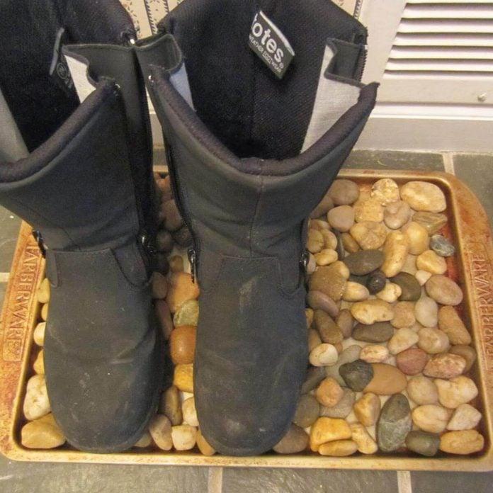 baking sheet boot tray