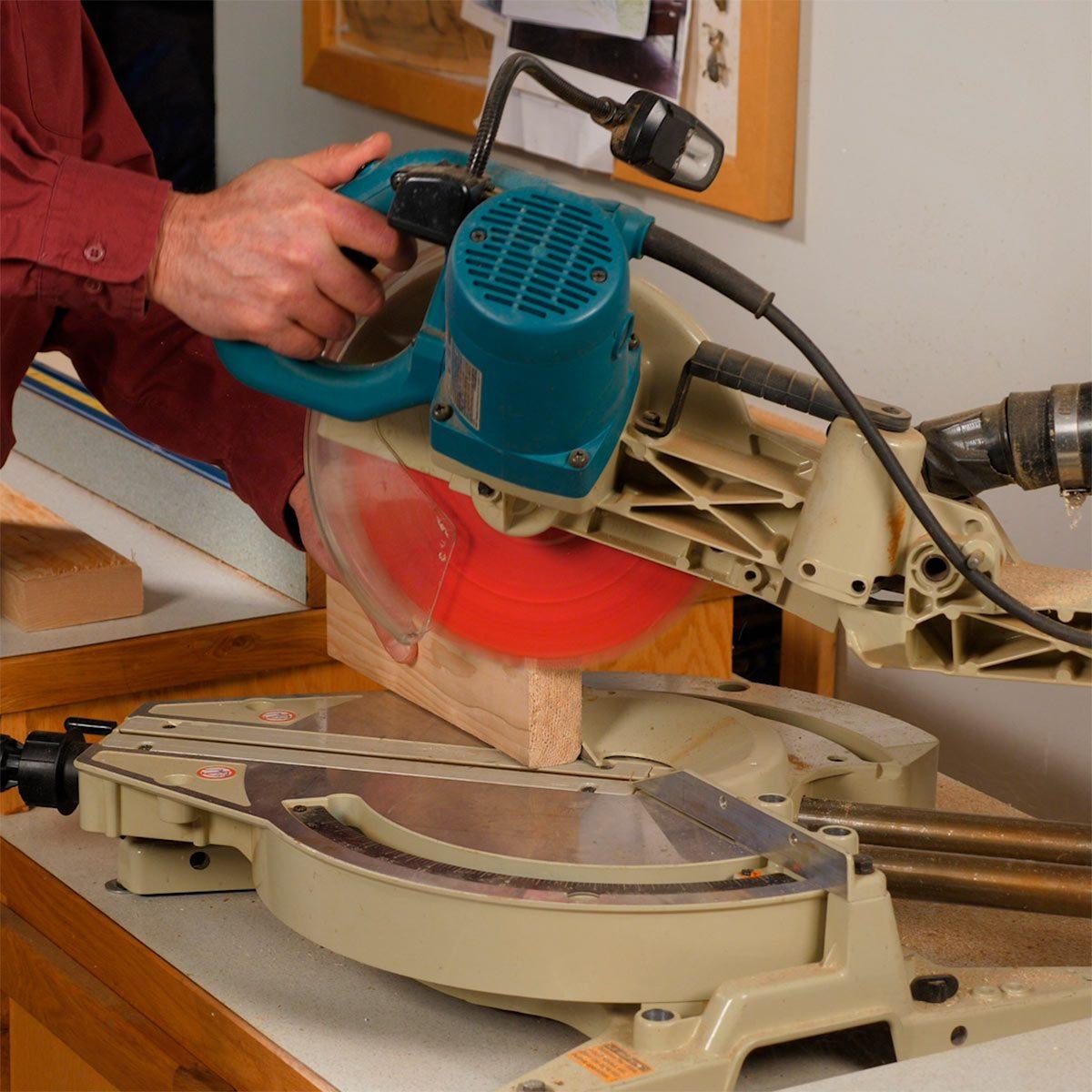 cutting block for belt sander sanding block