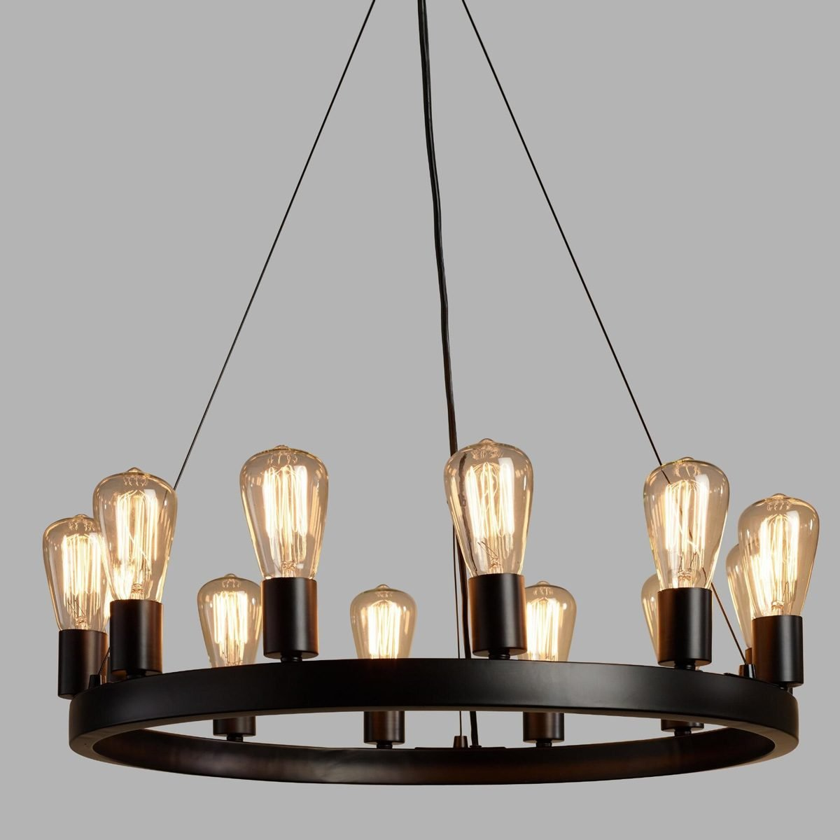bulbchandelier matte finish