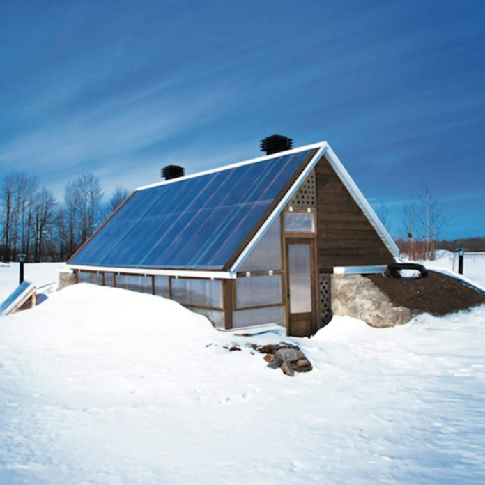 solar greenhouse winter backyard greenhouse diy