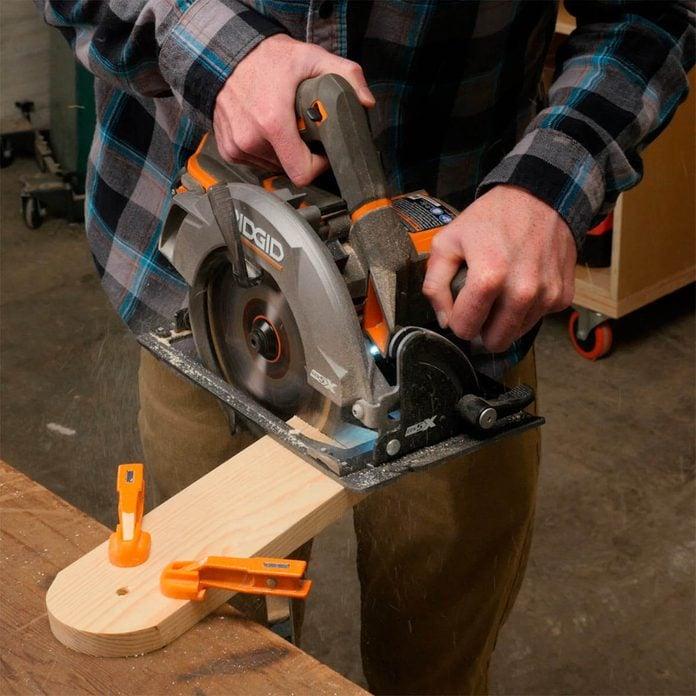 cutting cornhole board leg angles