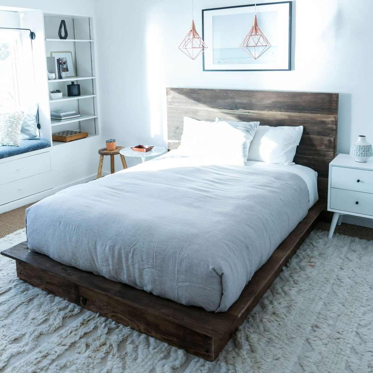 Awesome Beds: 10 Awesome DIY Platform Bed Designs