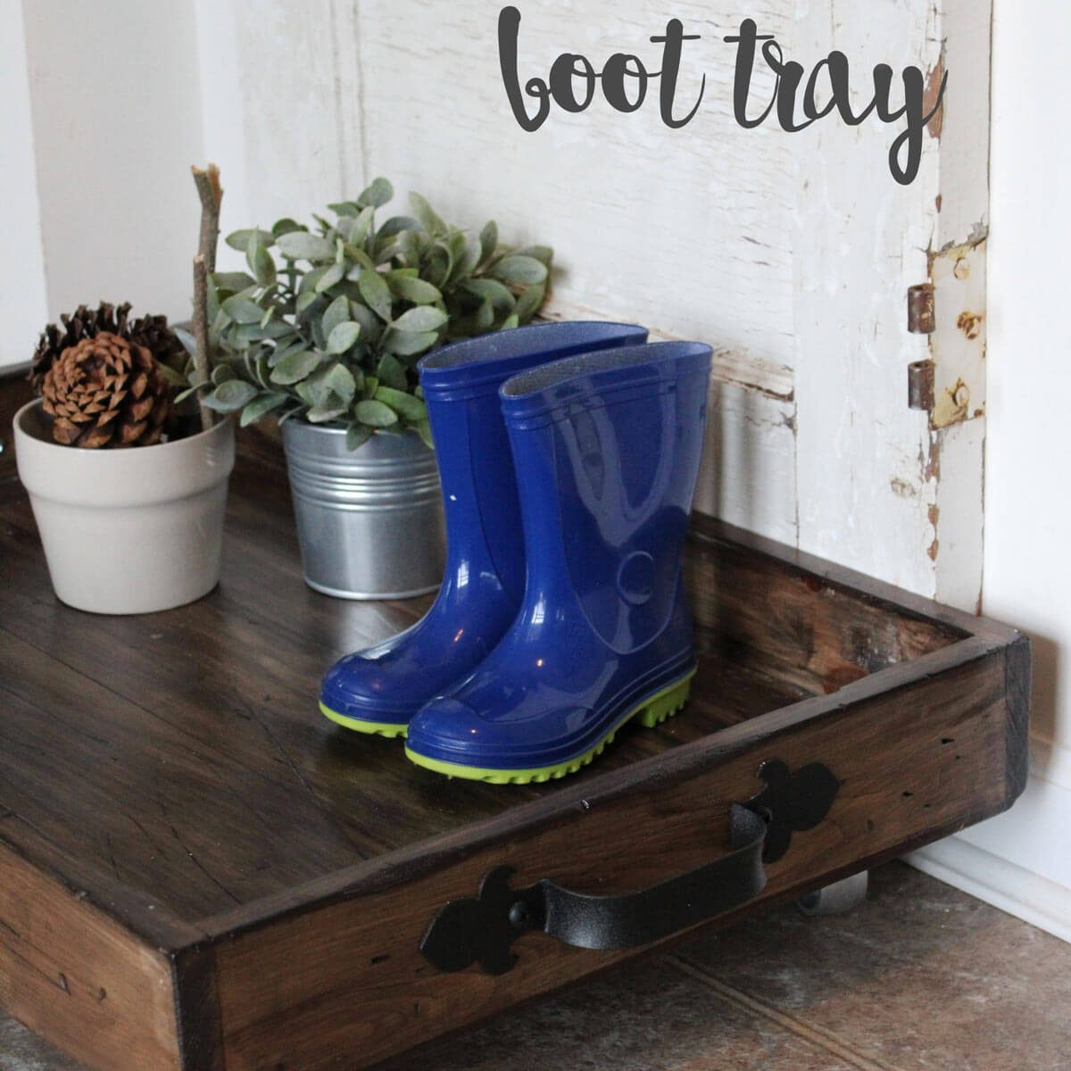 Drawer Boot Tray