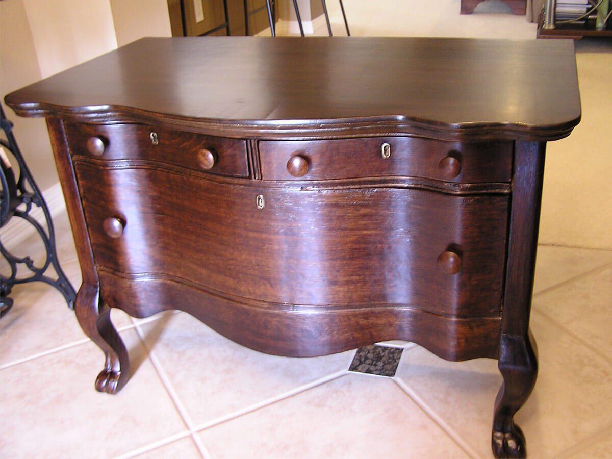 farmhouse dresser after