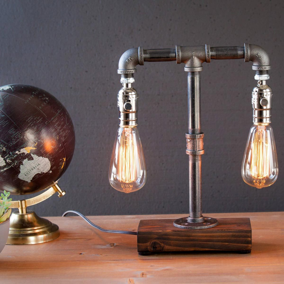 edison pipe lamp