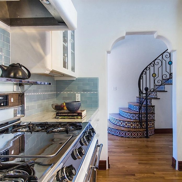 arch in kitchen remodel