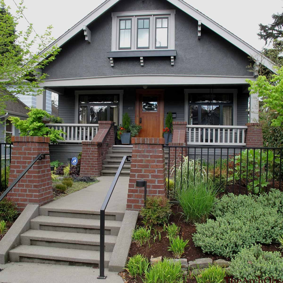 10 new trends in wood trim for 2018 the family handyman - White house with grey trim ...
