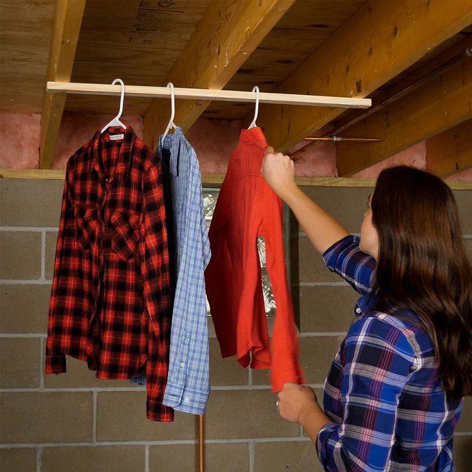 HH Scrap Clothes Air Dryer Hanger laundry hack