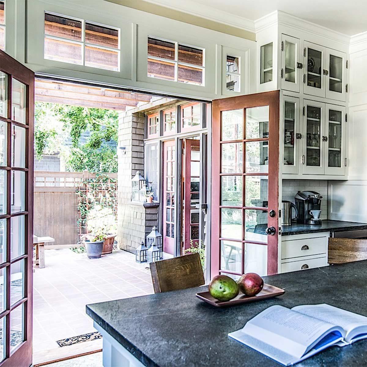 craftsman style kitchen remodel